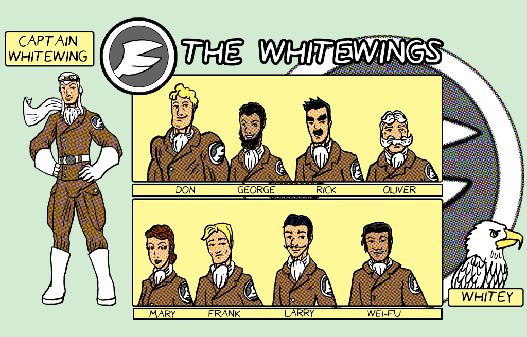 The Whitewings by Speedslide