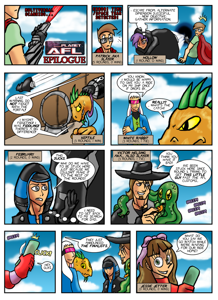 Planet AFL - Epilogue - Page 1 by Speedslide