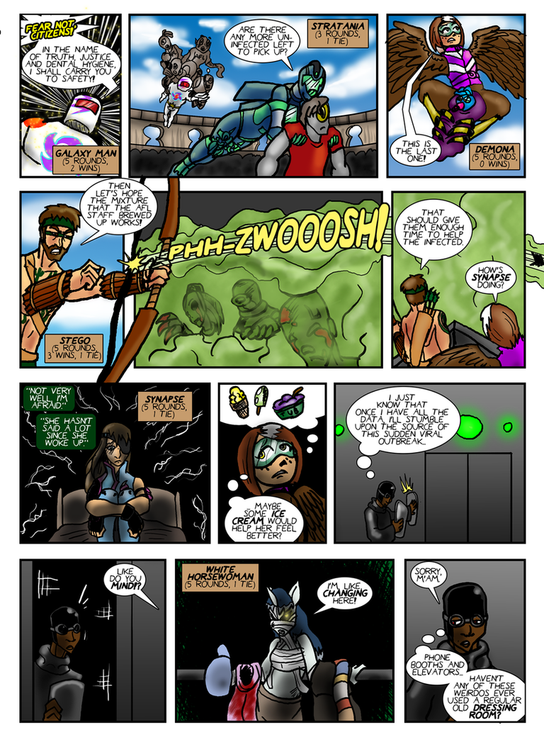 Planet AFL - Epilogue - Page 3 by Speedslide