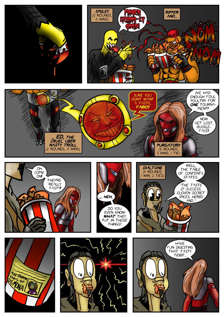 Planet AFL - Epilogue - Page 7 by Speedslide