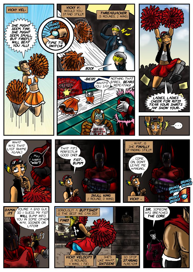 Planet AFL - Epilogue - Page 18 by Speedslide