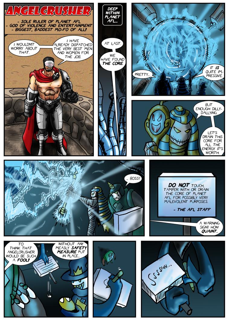 Planet AFL - Epilogue - Page 19 by Speedslide
