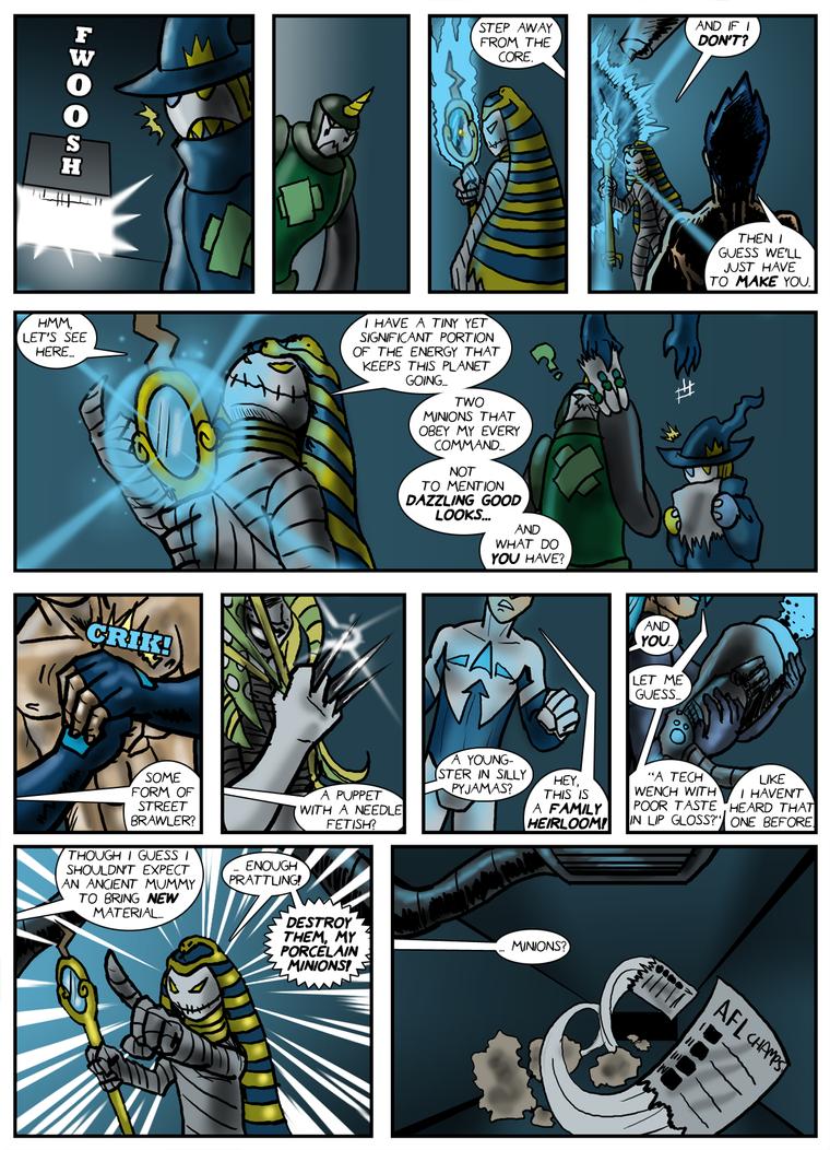 Planet AFL - Epilogue - Page 20 by Speedslide