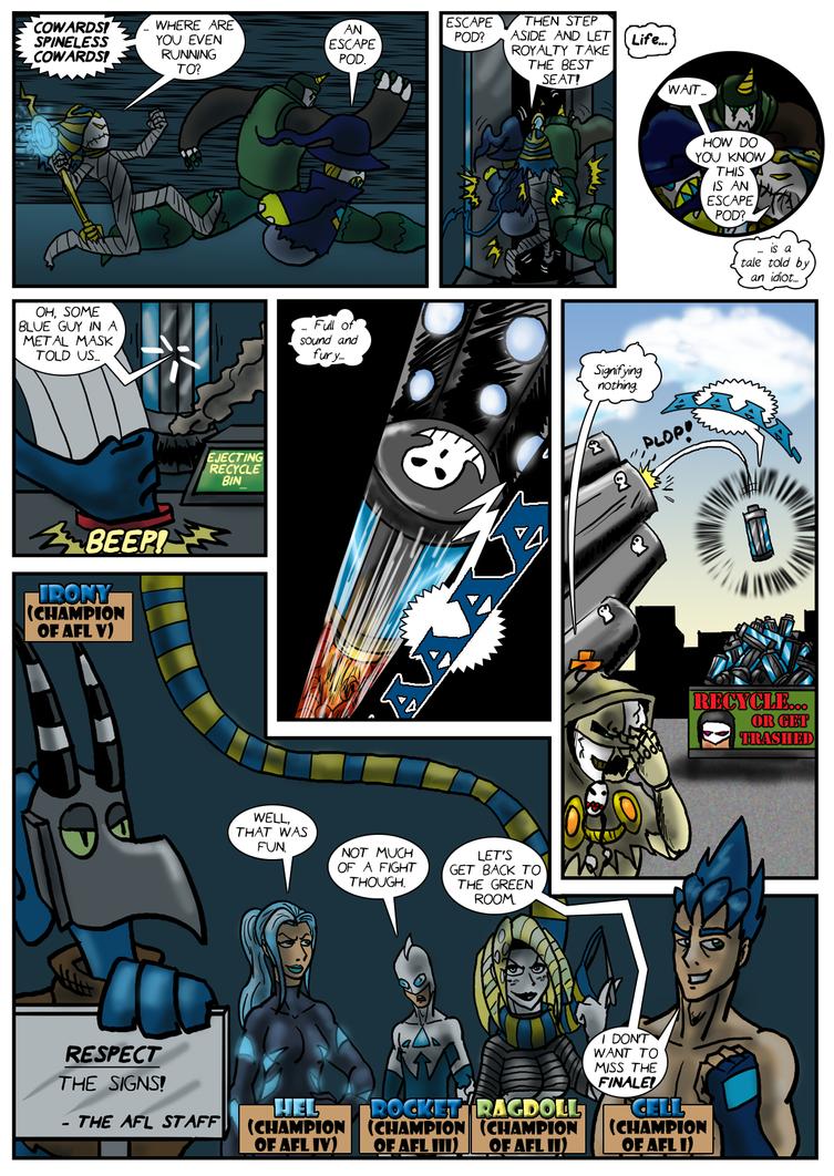 Planet AFL - Epilogue - Page 21 by Speedslide