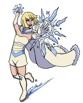 Commission: Ice Lady