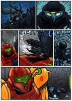Comic Commission: Samus and Lumi vs Dark Samus pg2