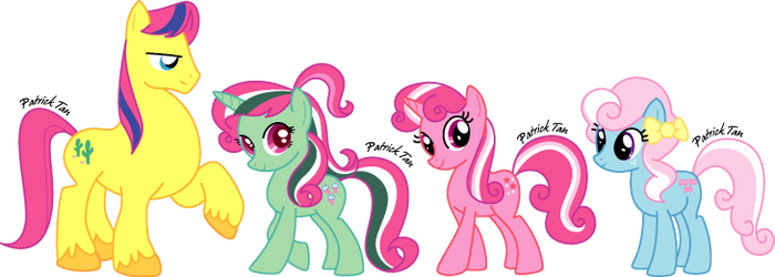 My Little G4 Ponies