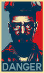 Walter White - Hope Poster by MrYorkie