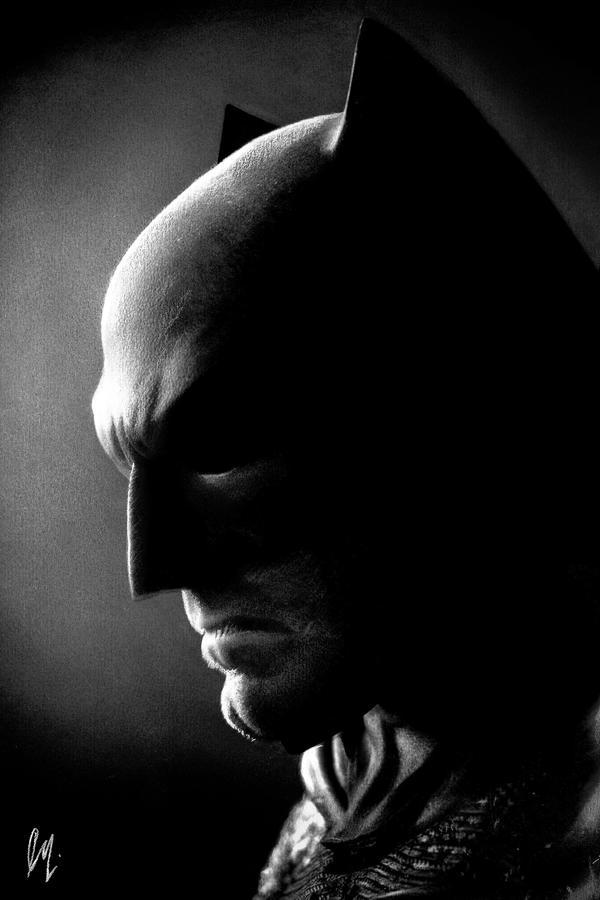 The Batman by Liam J. York by MrYorkie