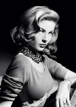 Lauren Bacall by Liam J. York