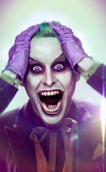 Jared Leto Joker retouch with suit
