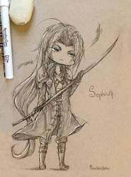 Chibi Sephiroth by MissChibiArtist