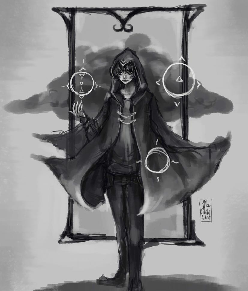 Magician by MissChibiArtist