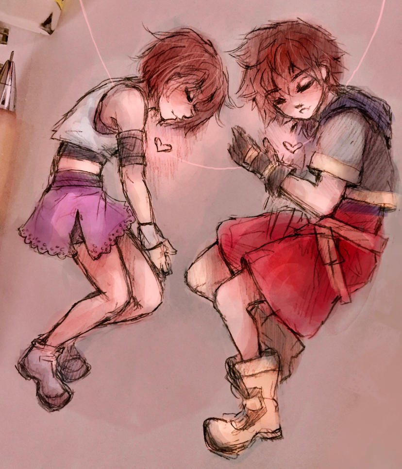 Our Hearts Are Connected by MissChibiArtist