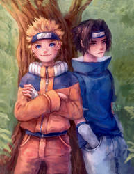 Naruto by MissChibiArtist