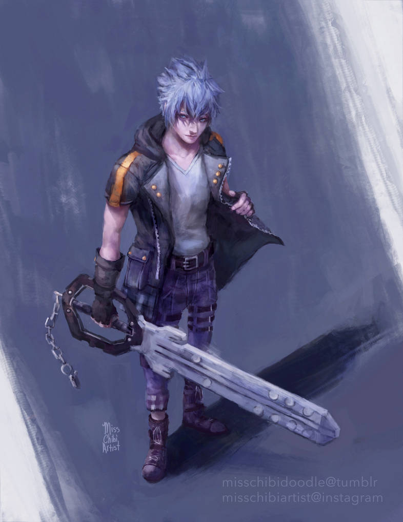 Riku - KH3 by MissChibiArtist
