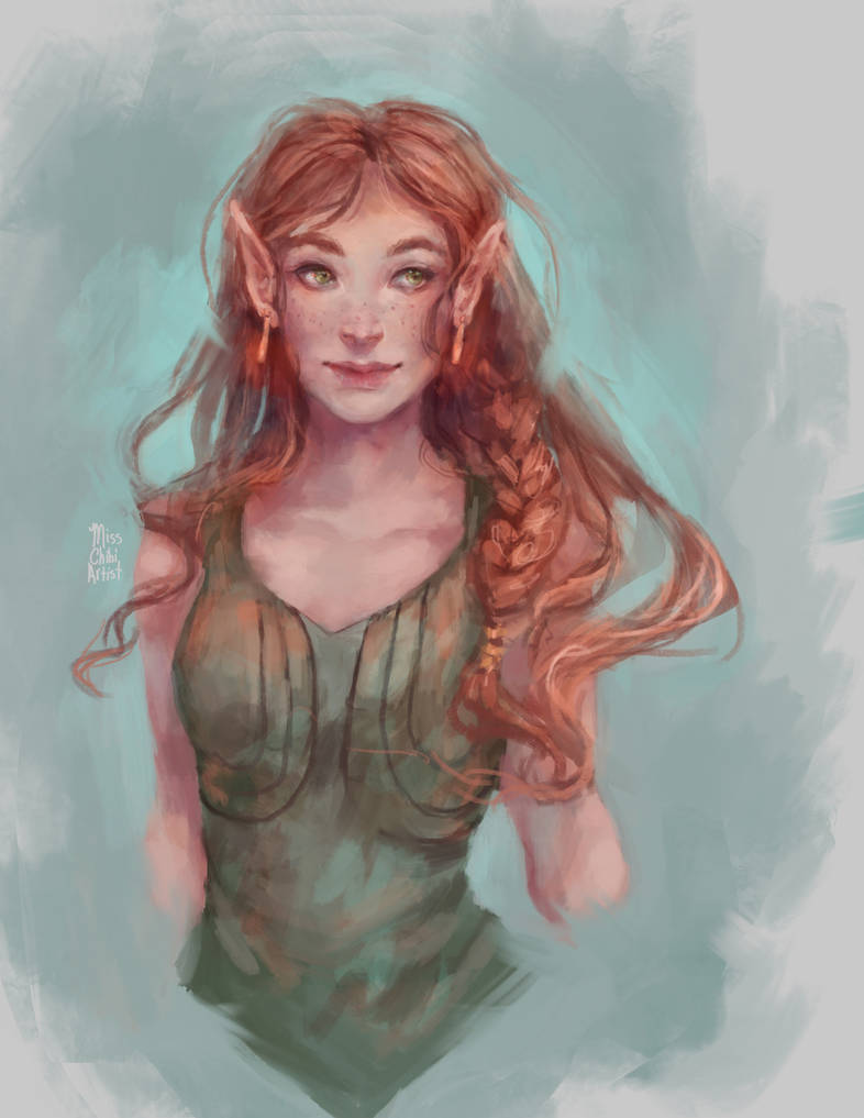 Elf by MissChibiArtist
