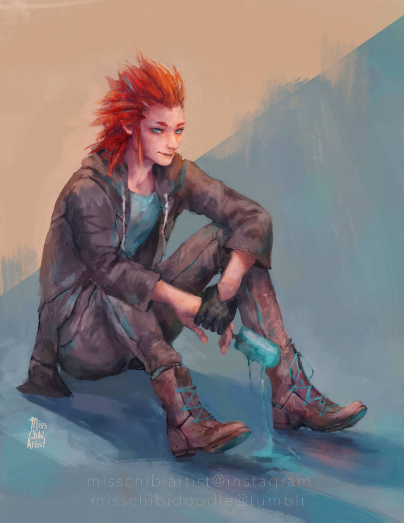 Axel - Lea by MissChibiArtist