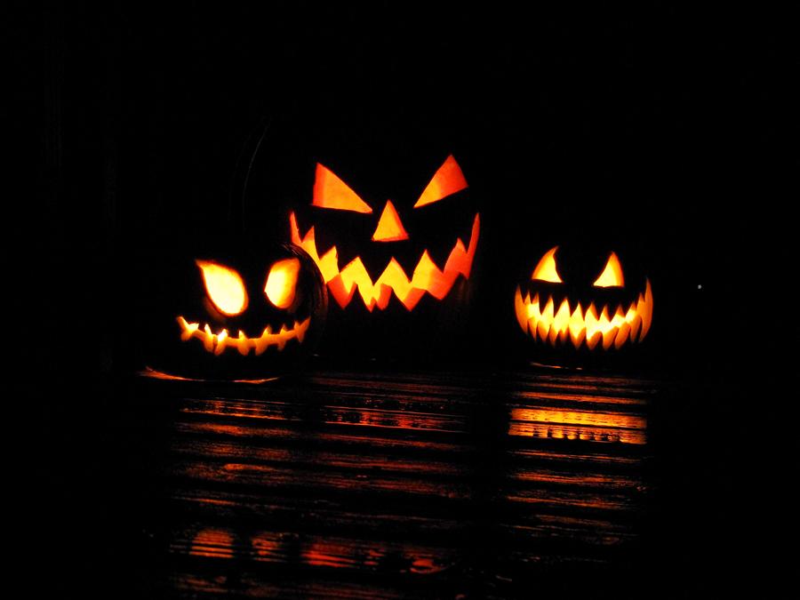 Jack-O-Lanterns by CatAddams
