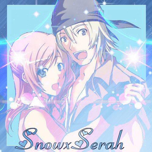 SnowxSerah by Shadowcatgirl09