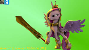 [DL]Armor For Princess Cadence by yoksaharat