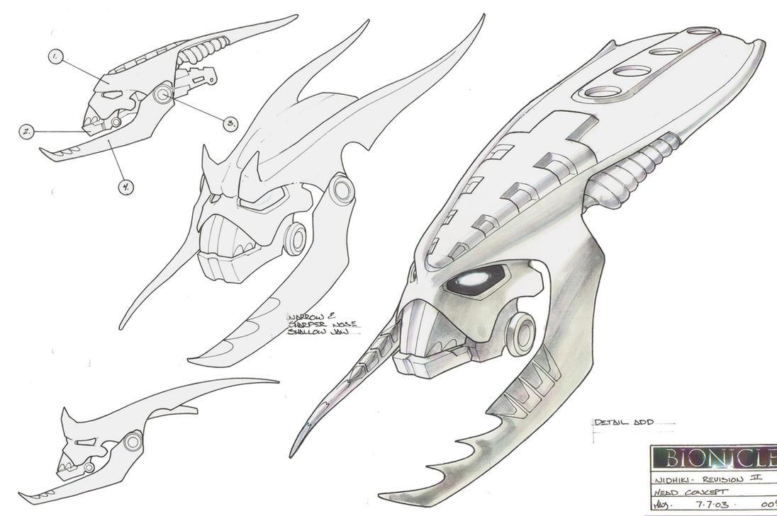 Nidhiki Head Concept by HK-887