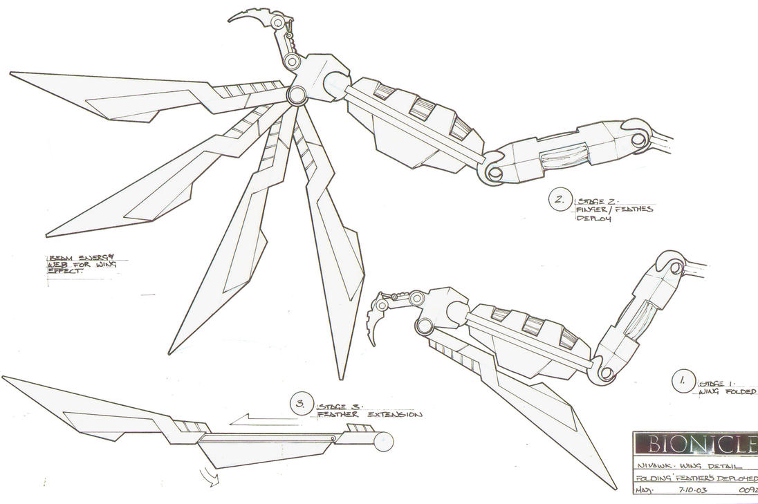 Nivawk Wing Detail by HK-887