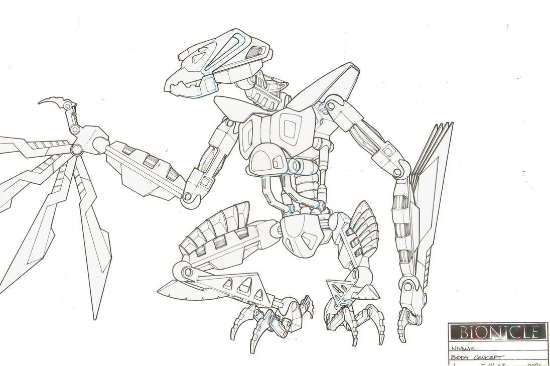 Nivawk Body Concept II by HK-887