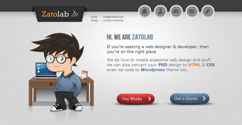 Zatolab by azhartdesign