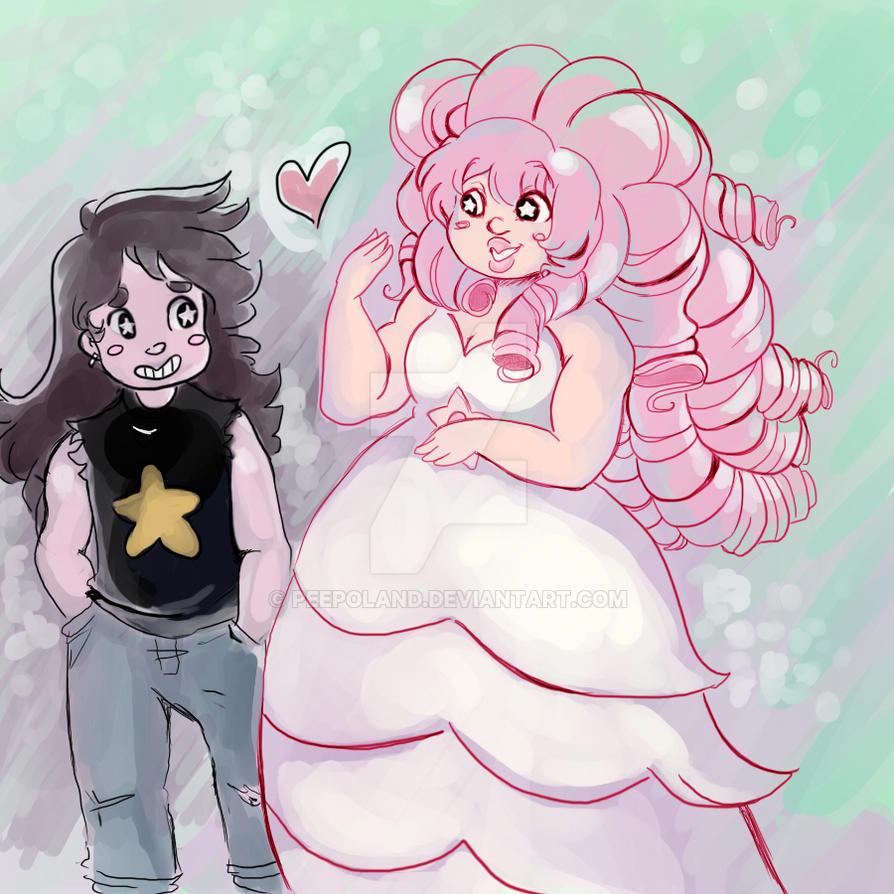 Steven Universe Greg/Rose by Peepoland