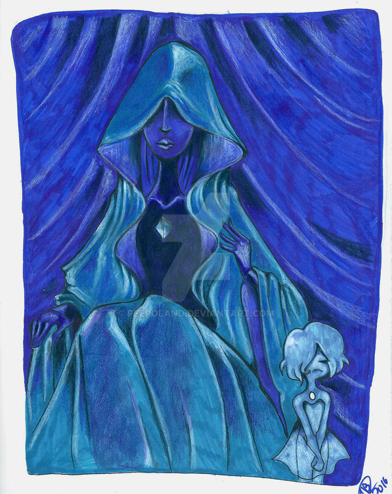 blue diamond by Peepoland