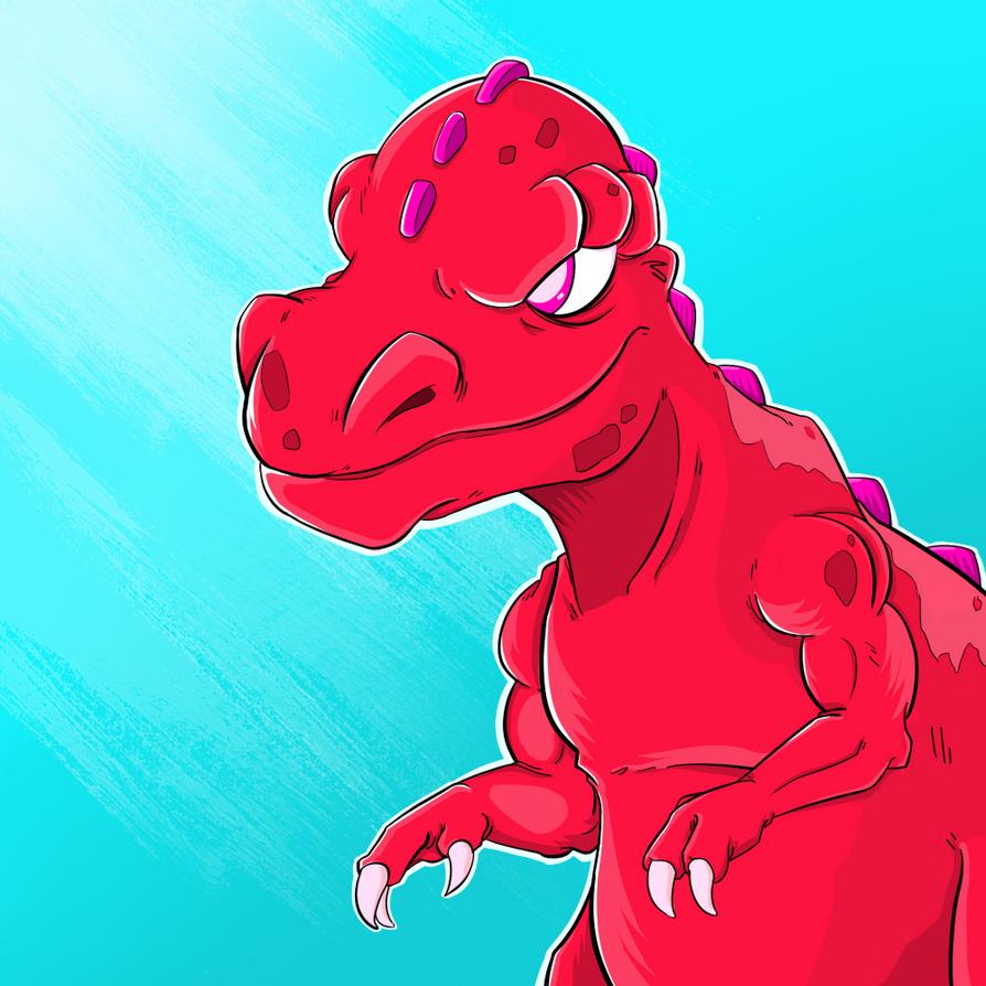 Candy Dino by barebalu