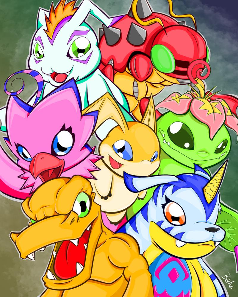 Digimon Adventure by barebalu
