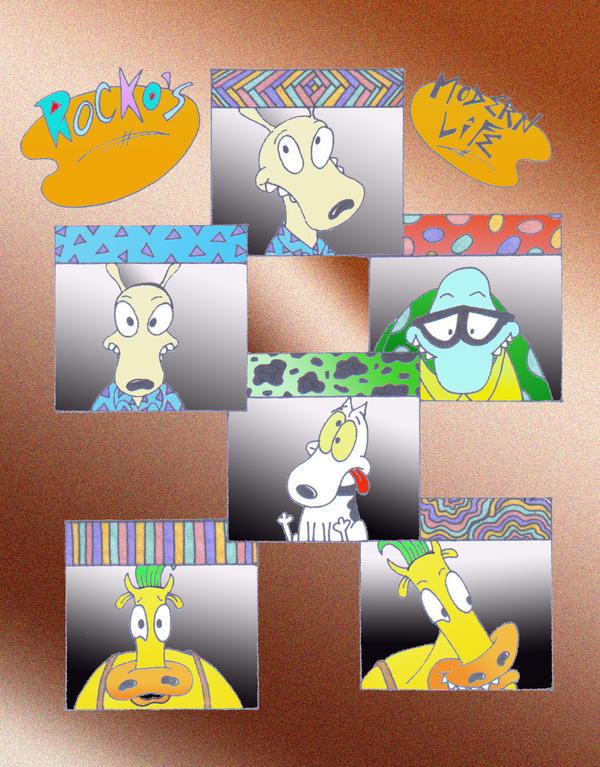 Rockos Modern Life by Nicktoonslovers-club