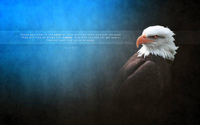 The Strength Of An Eagle