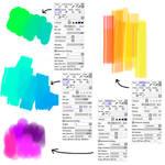 Brush settings for PaintTool SAI