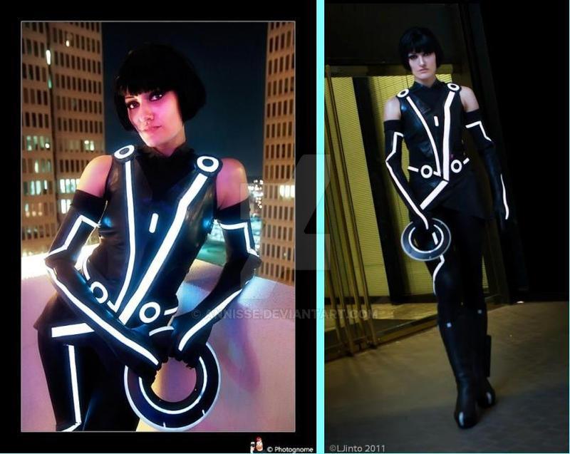 Tron Legacy Costume Quorra