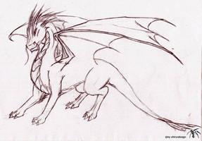 china dragon by Shiryuakais