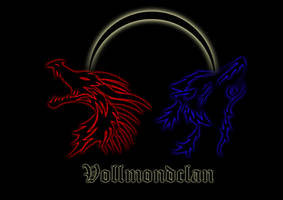 Logo with Dragon and Wolve by Shiryuakais