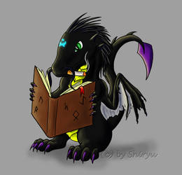 Chibi shivan Commish