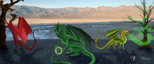 Hope - Dragons help the Natur