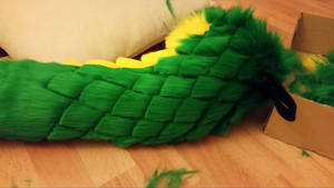 WIP green scaletail