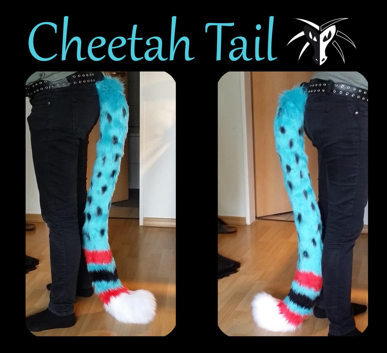 Cheetah Tail by Shiryuakais