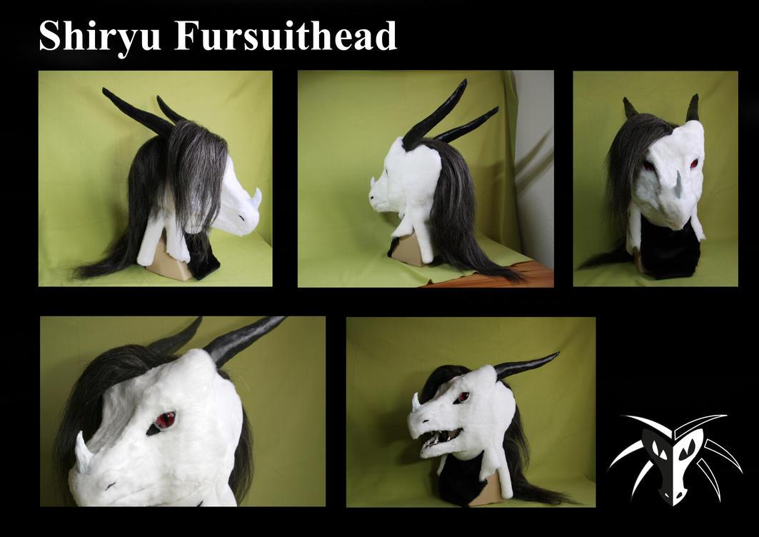 Dragon head by Shiryuakais