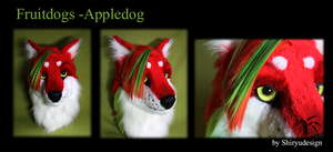 Fruitdog-Appledog by Shiryuakais