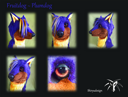 Fruitdog - Plumedog by Shiryuakais