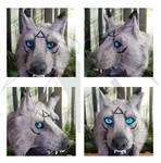 Headdress Wolf