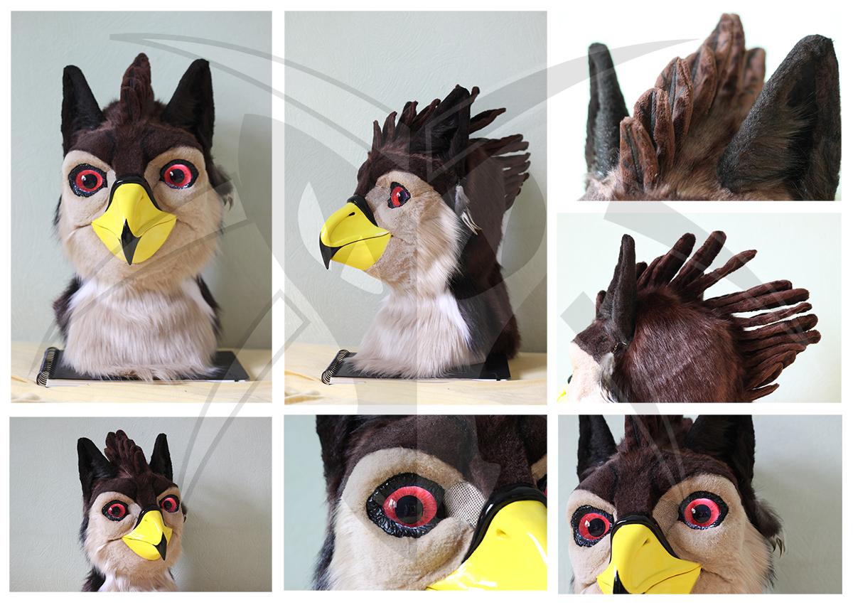 Tobias the Griffin Head