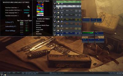 Desktop Toolbar by edserra