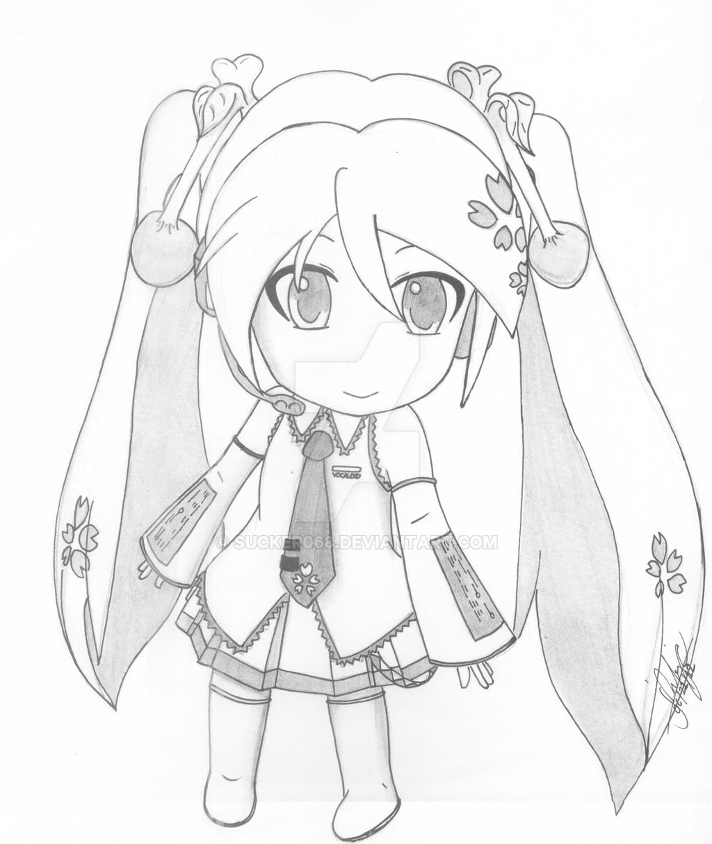 Nendoroid Sakura Miku by sucker068